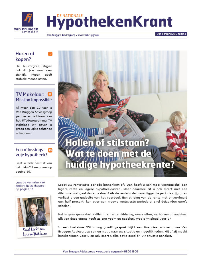 De Nationale HypothekenKrant in Leek