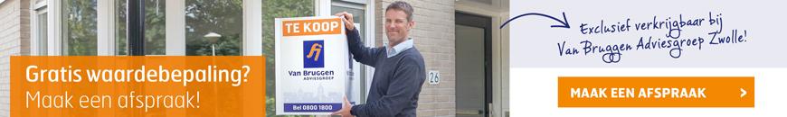 Gratis waardebepaling voor je huis in Zwolle