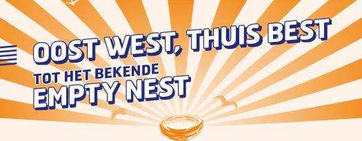 Oost west - thuis best - tot het bekende empty nest